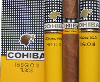 Xì gà Cohiba Siglo III tubos
