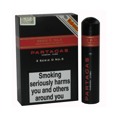 xì gà Partagas serie D No.5 tubos