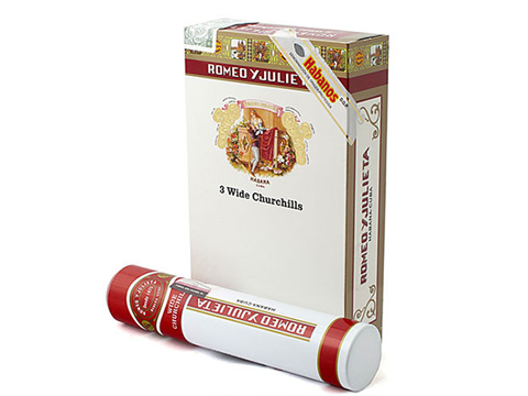 Romeo y Julieta Wide Churchill tubos