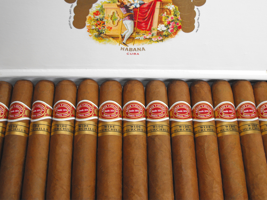 xì gà Romeo y Julieta Wide Churchill