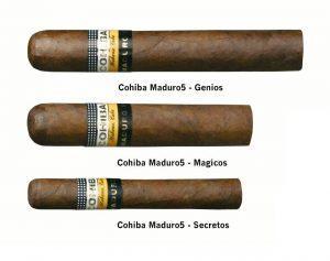 Xì gà Cohiba Maduro 5 secretos
