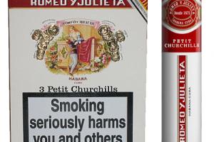 Xì gà Romeo y Julieta Petit Churchills tubos