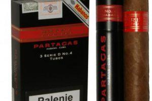 xì gà Partagas serie D No.4 tubos